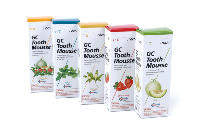 Tooth Mousse, GC, Япония